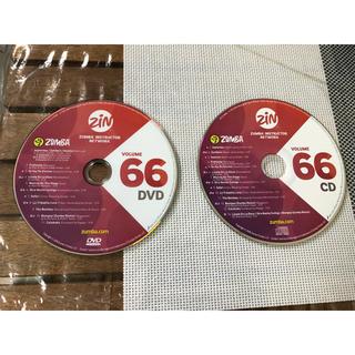 ズンバ(Zumba)の【セット】ZUMBA ZIN VOLUME 66 DVD & CD (スポーツ/フィットネス)