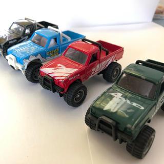 タカラトミー(Takara Tomy)のトミカ トヨタ ハイラックス 4WD ビッグフット 4台セット(ミニカー)