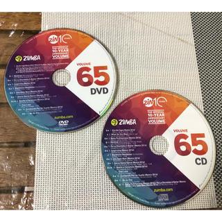 ズンバ(Zumba)の【セット】ZUMBA ZIN VOLUME 65 DVD & CD (スポーツ/フィットネス)