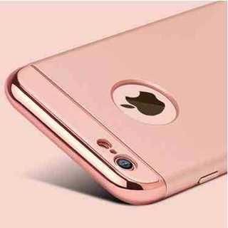 8fded5606f スマホケース ピンクゴールド iPhone 6/6s ガラスフィルム シンプル(iPhoneケース)