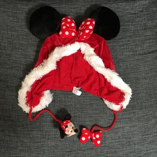 ディズニー(Disney)のディズニー☆ミニー☆サンタ帽子☆美品(その他)