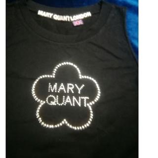 マリークワント(MARY QUANT)のMARY QUANTタンクトップ【M】ブラック(タンクトップ)