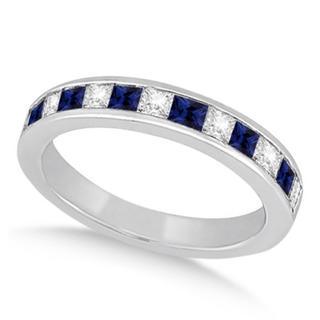 指輪 12号 ブルー×クリアストーン リング 新品 メンズ レディース (リング(指輪))