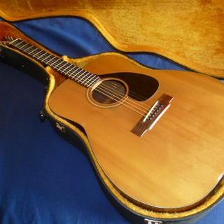 ヤマハ(ヤマハ)のヤマハ 初期型 FG-140 伝説の赤ラベル(アコースティックギター)