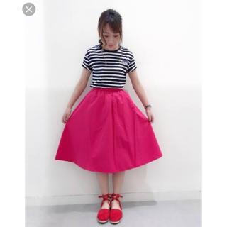 GU - GU☆イージーカラーフレアスカート