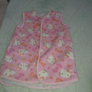 サンリオ(サンリオ)の子供服ベビーかいまきスリーパーパジャマ(パジャマ)