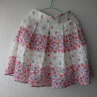 リズリサ(LIZ LISA)の花柄スカート (ひざ丈スカート)