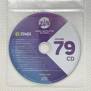 ズンバ(Zumba)のZUMBA CD  ZIN 79(スポーツ/フィットネス)