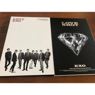 エクソ(EXO)のEXO LOVESHOT 2枚セット(K-POP/アジア)
