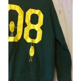 グラニフ(Design Tshirts Store graniph)のgraniph 長袖トレーナー グリーン イエロー(トレーナー/スウェット)