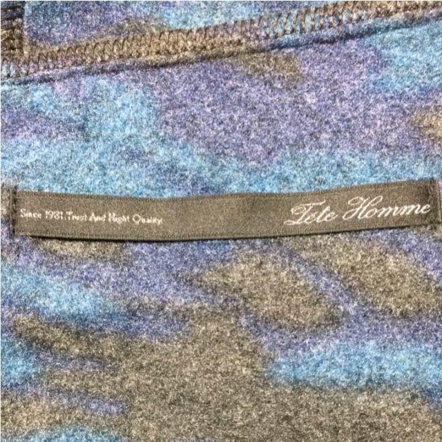 TETE HOMME(テットオム)のTete Homme 迷彩ジャケット メンズのジャケット/アウター(テーラードジャケット)の商品写真