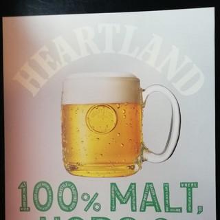 ハートランド大型ポスター1枚 ジョッキ(アルコールグッズ)