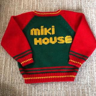 ミキハウス(mikihouse)のミキハウスセーター とデニムつなぎセット(ニット/セーター)
