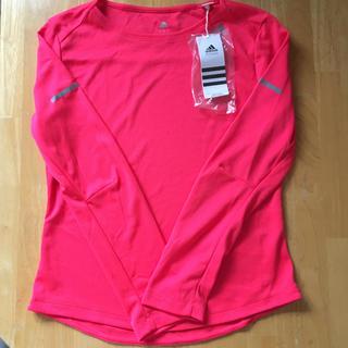 アディダス(adidas)の☆ 《 新品 》アディダス レディース長袖Tシャツ(Tシャツ(長袖/七分))