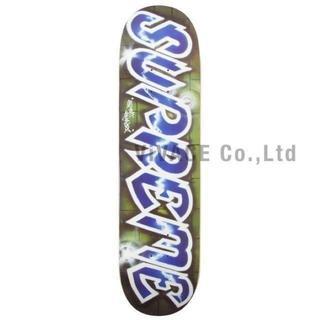 シュプリーム(Supreme)のSupreme Lee Logo Skateboard 青 込み(スケートボード)