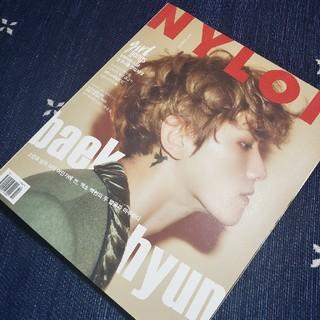 エクソ(EXO)のNYLON  EXO BAEKHYUN(K-POP/アジア)