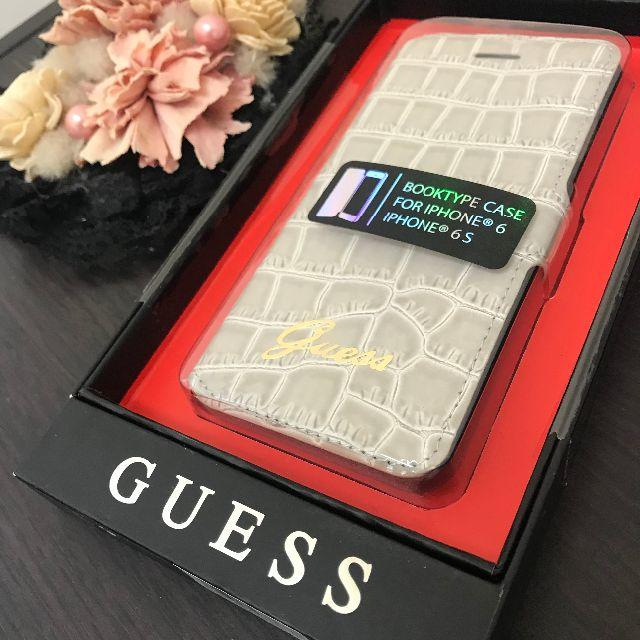 GUESS - GUESS ゲス iPhoneケース iPhone6s クロコダイル ベージュの通販 by ブランドショップリードホープ@DOMINOプロフ必読|ゲスならラクマ