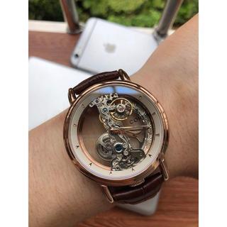 コルム(CORUM)のレザーベルト CORUM コルム 腕時計 40mm 激売れ ファッション(レザーベルト)