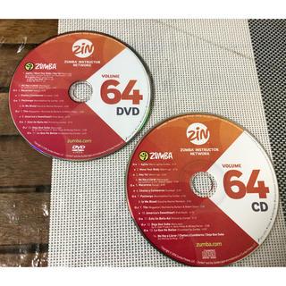 ズンバ(Zumba)の【セット】ZUMBA ZIN VOLUME 64 DVD & CD (スポーツ/フィットネス)