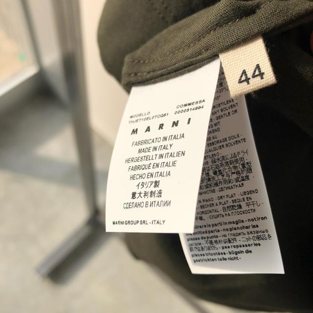 Marni(マルニ)のMARNIバイカラー モックネック イタリア製  サイズ 44(M) レディースのトップス(Tシャツ(半袖/袖なし))の商品写真