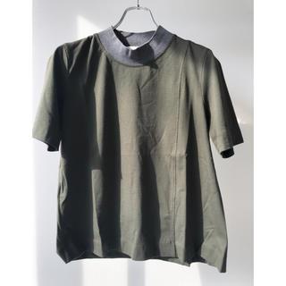 マルニ(Marni)のMARNIバイカラー モックネック イタリア製  サイズ 44(M)(Tシャツ(半袖/袖なし))