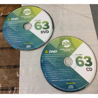 ズンバ(Zumba)の【セット】ZUMBA ZIN Volume 63 DVD & CD (スポーツ/フィットネス)