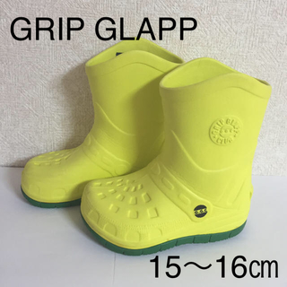 【GRIP GLAPP】レインブーツ 15㎝〜16㎝(長靴/レインシューズ)