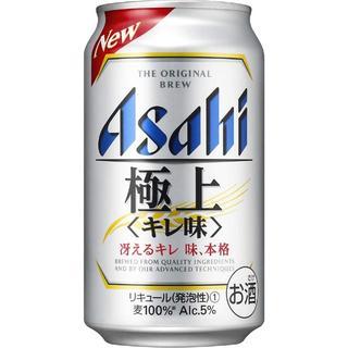 アサヒ(アサヒ)の65 【2019年発売】アサヒ 極上<キレ味> 缶 [ 350ml×24本 ] (ビール)