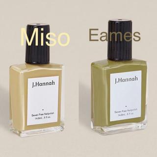 J.Hannah  Miso & Eames set