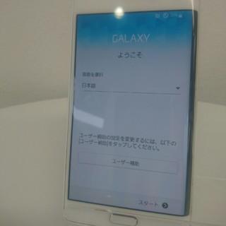 ギャラクシー(galaxxxy)の☆美品☆au GALAXY Note Edge SCL24(スマートフォン本体)
