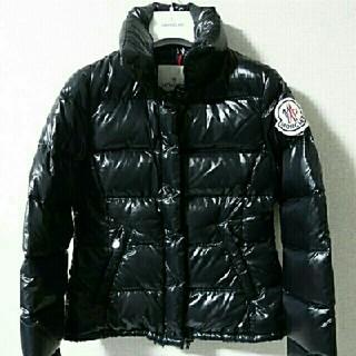 モンクレール(MONCLER)のモンクレール クレア  CLAIRE ダウンジャケット  ブラック(ダウンジャケット)