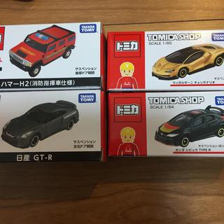 タカラトミー(Takara Tomy)のトミカオリジナル 新品 4台セット(ミニカー)