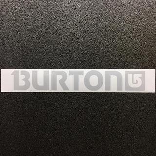 バートン(BURTON)の●再帰反射素材● BURTONロゴ リフレクターカッティングステッカー 送料無料(アクセサリー)
