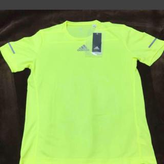 アディダス(adidas)の新品タグ付 アディダスrunningTシャツ(Tシャツ/カットソー(半袖/袖なし))