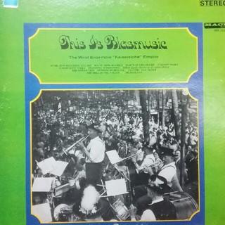 これがブラス·ミュージックだ~ドイツ皇帝国吹奏楽アンサンブル。(LPレコード)(クラシック)