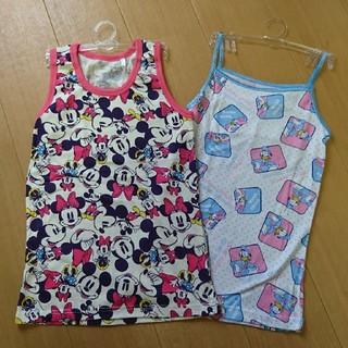ディズニー(Disney)の女の子 インナー 半袖 シャツ 150㎝(下着)