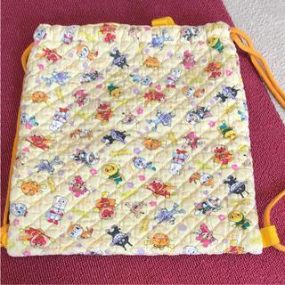 ☆美品☆アンパンマン ナップサック 上履き袋 シューズ袋(シューズバッグ)