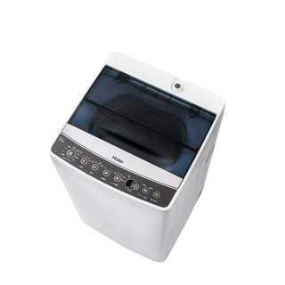 ハイアール 5.5kg 全自動洗濯機 ブラック JW-C55A-K 277