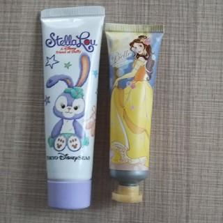 ディズニー(Disney)の【新品】ステラルー&Belleハンドクリーム(ハンドクリーム)