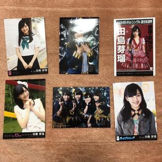 エイチケーティーフォーティーエイト(HKT48)のHKT48  田島芽瑠  生写真(アイドルグッズ)