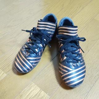 adidas - adidas キッズ  サッカー スパイク  22.5cm