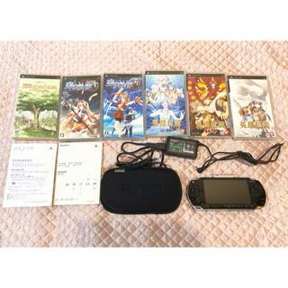 プレイステーションポータブル(PlayStation Portable)のPSP1000本体&カセット6本(携帯用ゲーム本体)