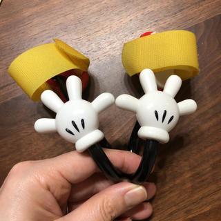 ディズニー(Disney)のディズニー ミッキー カーフック ベビーカーフック(ベビーカー用アクセサリー)
