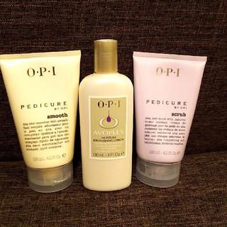 オーピーアイ(OPI)のOPI*フット用クリーム&フット用スクラブクリーム&ボディクリーム(フットケア)