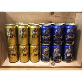 エビス(EVISU)のエビスビール 350ml × 24本 送料込み(ビール)