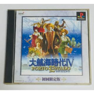 プレイステーション(PlayStation)のPS 大航海時代Ⅳ ポルトエシュタード 初回限定版(家庭用ゲームソフト)
