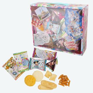 ディズニー(Disney)のタワー缶♡グランドフィナーレ♡お菓子♡ミッキー♡35周年♡チョコ♡お煎餅(菓子/デザート)