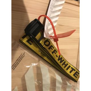 オフホワイト(OFF-WHITE)のoff-whiteベルト(ベルト)