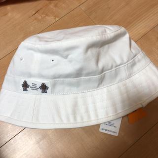 ジーユー(GU)のSTUDIO SEVEN GU バケット ハット ホワイト バケットハット(ハット)
