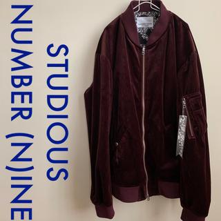 ナンバーナイン(NUMBER (N)INE)のNUMBER (N)INE STUDIOUS Ma-1 ジャケット(ミリタリージャケット)